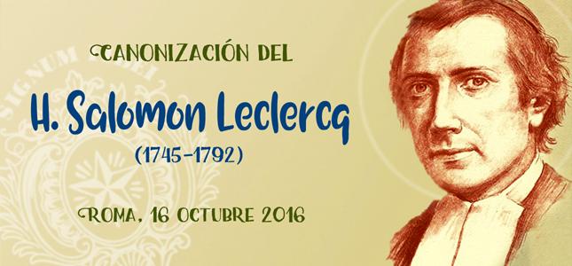Canonización del H. Salomón Leclercq