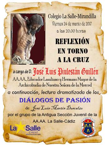 La Salle Mirandilla. Diálogos de Pasión