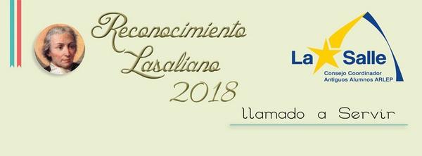 Reconocimiento Lasaliano 2018