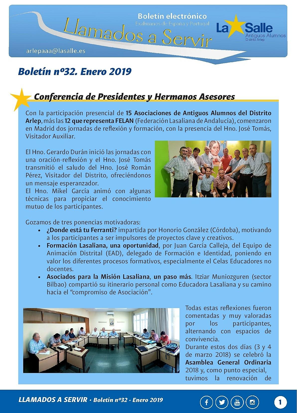 BOLETIN No32 DE LA COORDINADORA