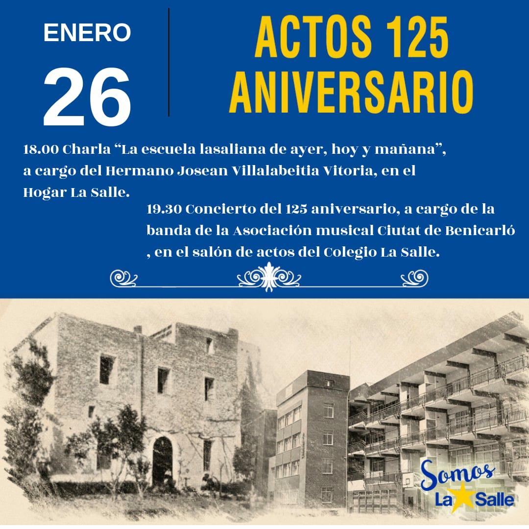 ACTOS BENICARLÓ 125 ANIVERSARIO