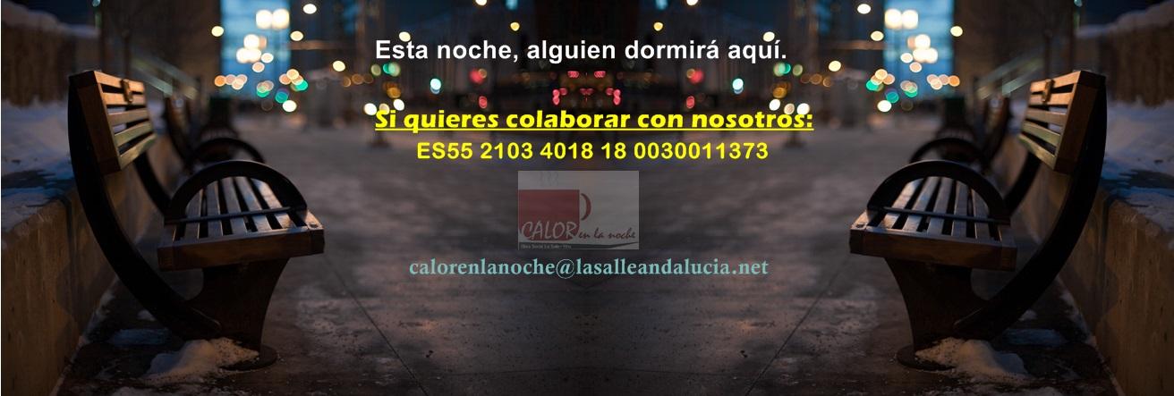 DONACIONES DE AMPAS A CALOR EN LA NOCHE-CÁDIZ
