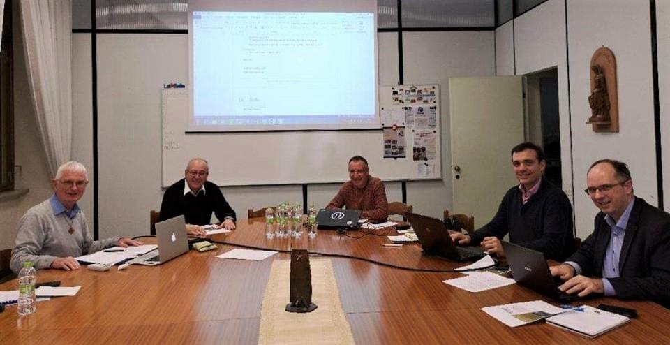 Reunión en Casa Generalicia de Roma de  Antiguos Alumnos Relem (Europa-Oriente Medio)