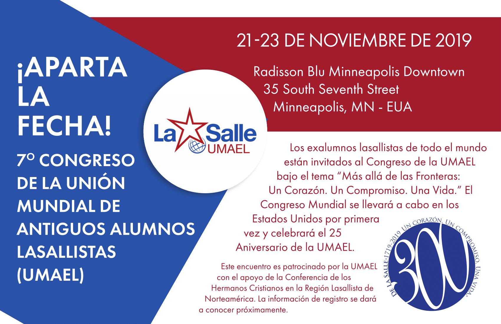 VII CONGRESO UMAEL EN ESTADOS UNIDOS 21-23 NOV 2019