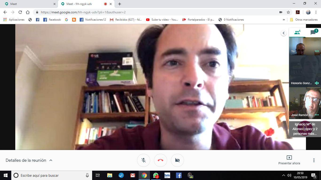 VIDEO REUNIÓN DEL CONSEJO ASESOR 10.5.2019