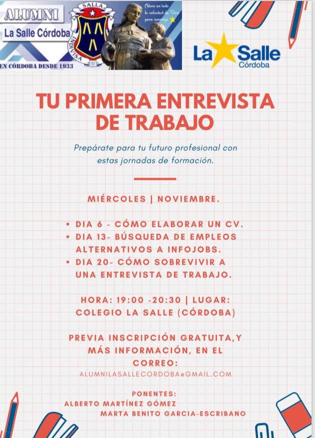 FORMACIÓN LABORAL, ENTREVISTA DE TRABAJO Y BÚSQUEDA DE EMPLEO