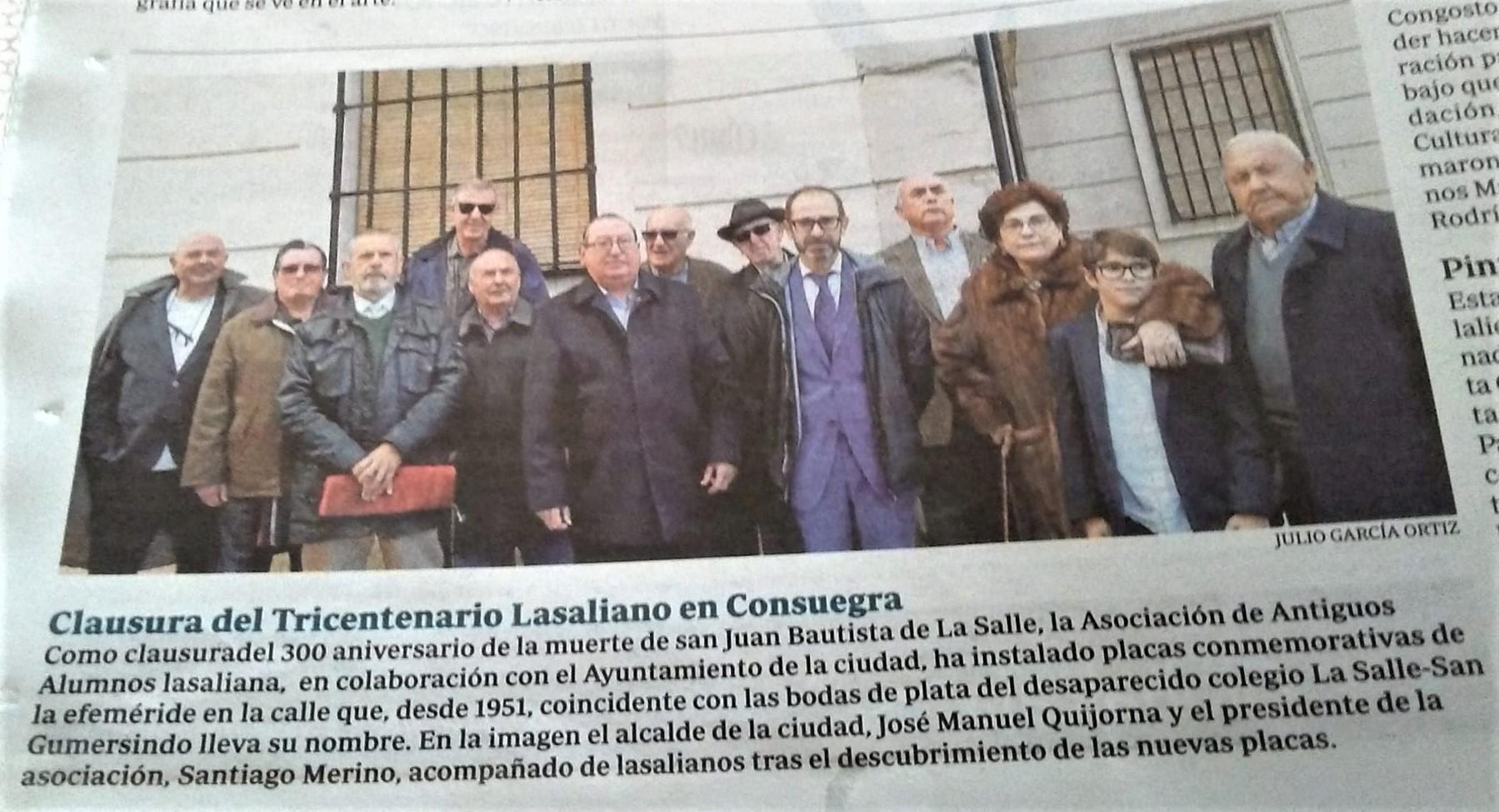 CLAUSURA DEL 300A EN CONSUEGRA