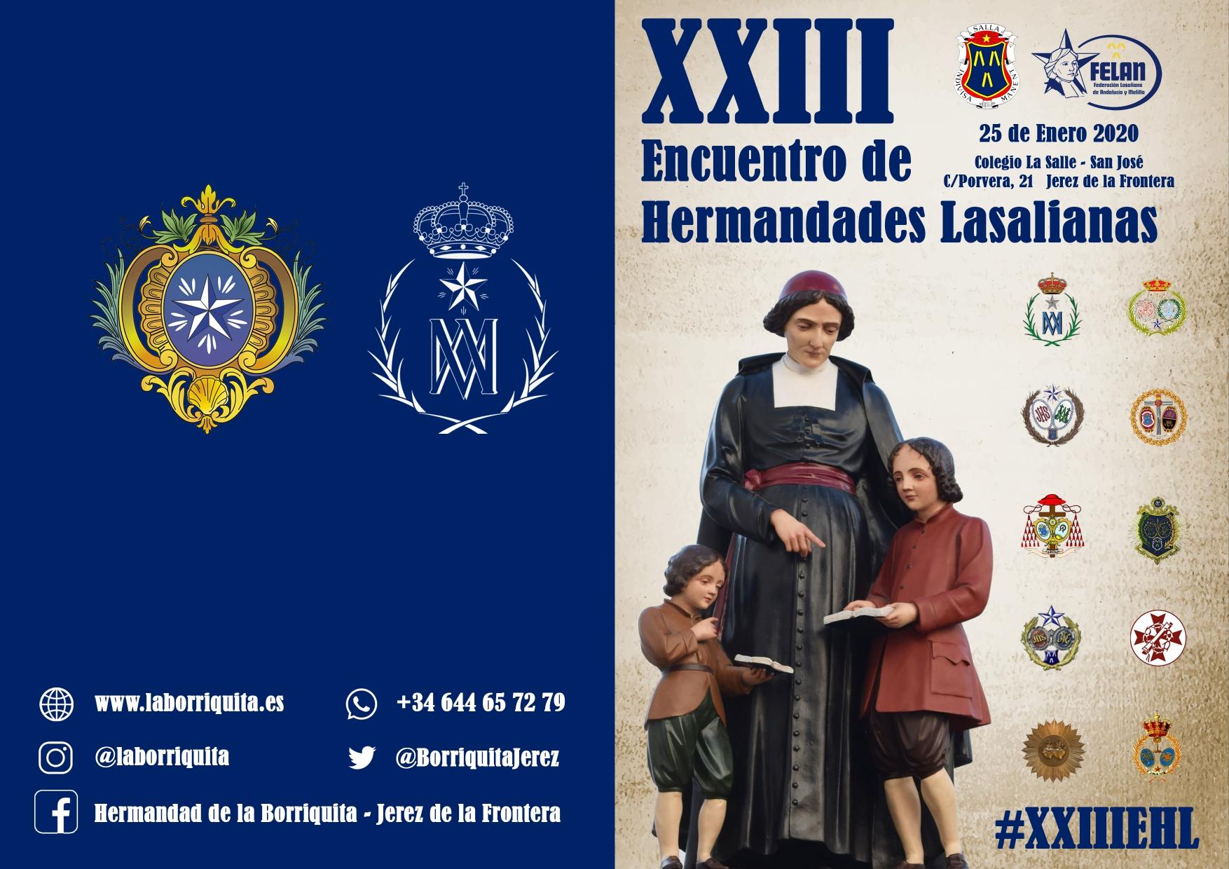 XXIII ENCUENTRO HERMANDADES LASALIANAS DE FELAN EN JEREZ