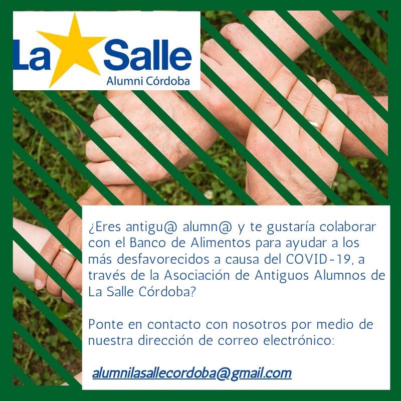 AA.AA SALLE CÓRDOBA CON EL BANCO DE ALIMENTOS