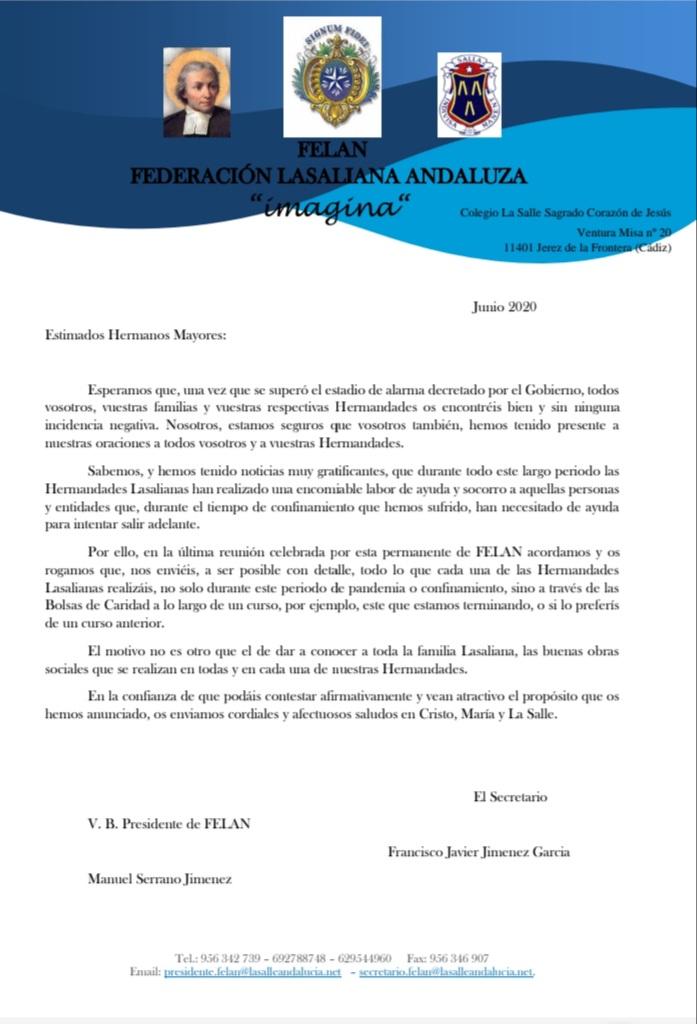 Estudio Bolsas de Caridad y Labor Social Hermandades Lasalianas  Arlep