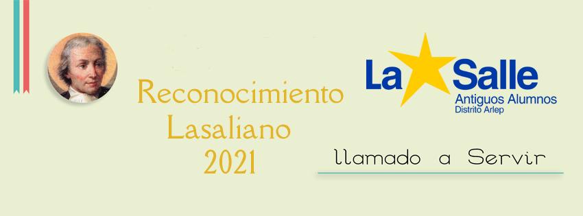 CONVOCATORIA RECONOCIMIENTO LASALIANO LLAMADO A SERVIR 2021